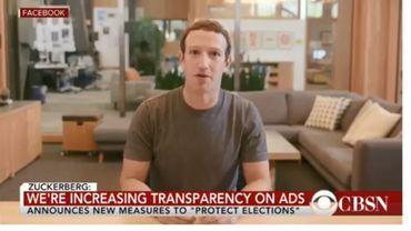 """Zuckerberg se vantant de contrôler des milliards de données volées ? Bienvenue dans l'ère des vidéos """"deepfakes"""""""