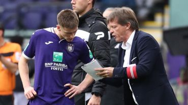 """Vercauteren: """"Après un match difficile contre Gand, il est normal qu'on manque de fraîcheur"""""""