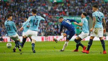 Eden Hazard face à Manchester City