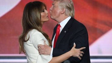 Melania et Donald Trump à la convention républicaine de Cleveland