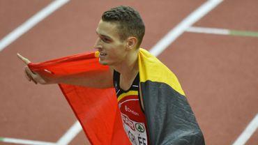Dylan Borlée en argent sur 400m à l'Euro de Prague
