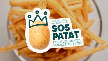 Des affiches et un spot pour inviter les Belges à manger plus de frites pour éviter le gaspillage