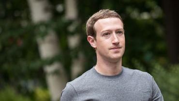 Mark Zuckerberg, le 14 juillet 2017 à Sun Valley, Idaho