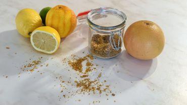 La Cuisine de Leslie - Poudre de zestes d'agrumes séchés