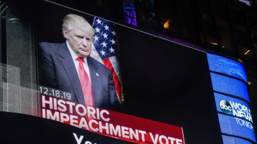 Americans Watch As The House Of Representatives Vote On Articles Of Impeachment Against President Donald Trump