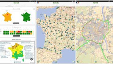 L'application Bison Futé sous Android