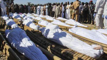 Samedi, des dizaines de personnes qui travaillaient dans une rizière proche du village de Zabarmari ont été sauvagement égorgées