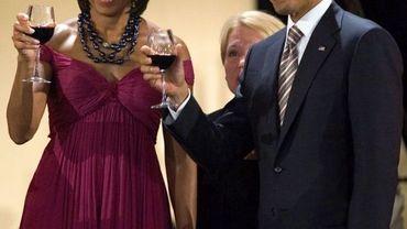 Le couple Obama au Chili en mars dernier