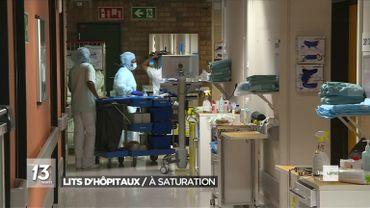 Coronavirus: situation de plus en plus tendue dans les hôpitaux en province de Liège
