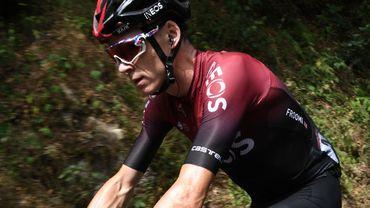 """Chris Froome à la Vuelta : """"Carapaz sera notre leader, moi je prends jour après jour"""""""