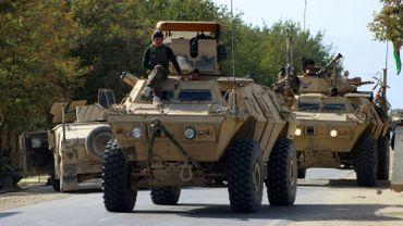 Les commandants de l'armée nationale afghane.