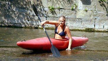 La descente de la Lesse en kayak à nouveau autorisée dès le 21mai