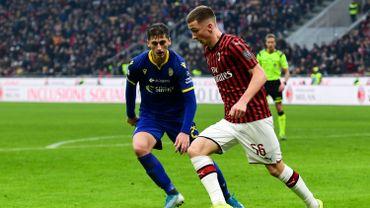 Alexis Saelemaekers a convaincu l'AC Milan