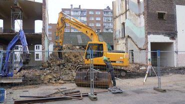 Le chantier a débuté rue de Harlez dans le quartier de Fragnée.
