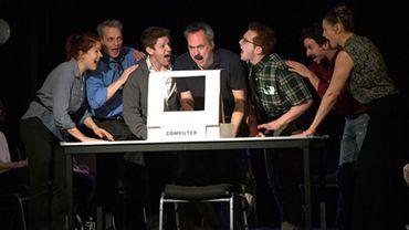 La comédie musicale est une petite production jouée jusqu'au 18 juin au St Luke's Theatre, situé dans un sous-sol de Manhattan, à deux pas de Times Square