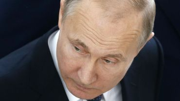 En fin de matinée, le président russe Vladimir Poutine s'est exprimé durement à propos des frappes contre son allié syrien.