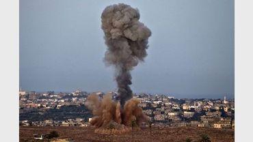 L'aviation israélienne a bombardé la bande de Gaza ce vendredi