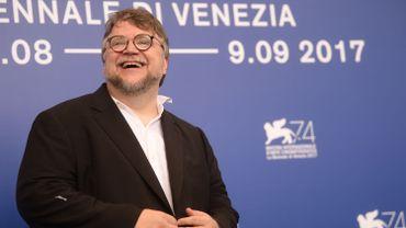 Le réalisateur Guillermo del Toro présentait The Shape of Water, le 31 août 2017 à Venise.