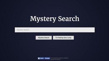 """""""Mystery Search"""" : moteur de recherches surréaliste"""