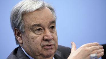 """Climat: il faut """"réparer"""" la planète, affirme Antonio Guterres (ONU)"""
