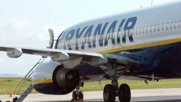 Un boeing 737 de Ryanair