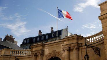 L'hôtel de Matignon, siège du premier ministre français.