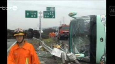 Accident de car en Chine