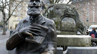 Statue de Charles Buls, mayeur de la Ville de Bruxelles de 1881 et 1899