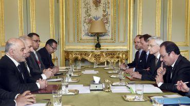 La coalition anti-djihadiste en réunion à Paris