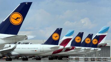 Des avions aux couleurs de Lufthansa