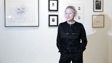 """Agnès b., styliste aux 300 boutiques dans le monde, """"n'aime pas"""" le monde de la mode."""