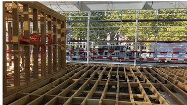 Liège : peu à peu, le MAD Musée-Trink Hall sort de terre