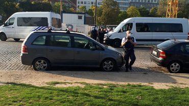 Nouvelle rafle policière au parc Maximilien ce jeudi