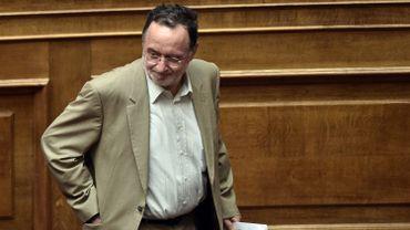 L'ancien ministre de Tsipras, Panayótis Lafazánis, a pris les commandes du nouveau groupe parlementaires créé par les dissidents de Syriza.