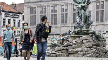 Coronavirus en Belgique: Anvers n'est plus considéré comme une zone à risque par l'Allemagne