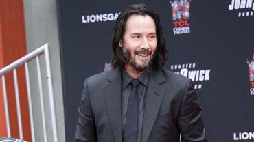 """Keanu Reeves est aussi la vedette de la série de films d'action """"John Wick"""", dont le troisième épisode, """"John Wick Parabellum"""", sort en salles cette semaine."""