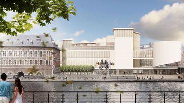 La Maison de la Culture de Namur, rénovée et agrandie, à l'horizon 2019.