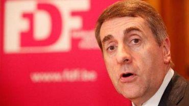 Olivier Maingain, président du FDF