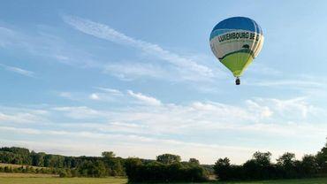La Gaume vue d'une montgolfière avec Adrien Joveneau !