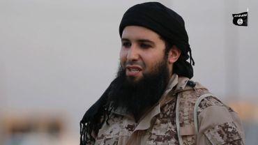 Rachid Kassim dans une vidéo de propagande de l'Etat islamique