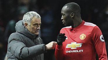 José Mourinho avec Romelu Lukaku