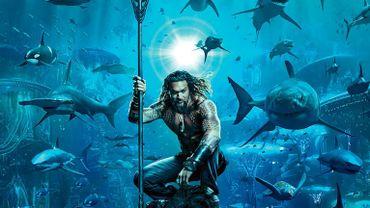 """Jason Momoa, rendu célèbre pour son interprétation de Khal Drogo dans """"Game of Thrones"""", incarne le Roi des Sept Mers dans """"Aquaman""""."""