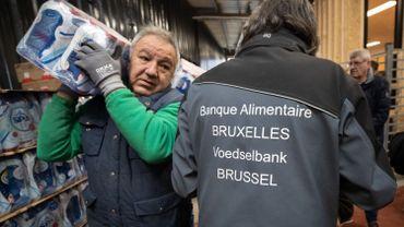 La crise pousse davantage de Belges vers les banques alimentaires