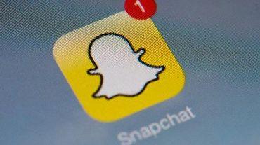 L'icône de l'application pour smartphones Snapchat