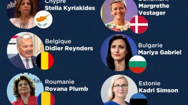Ursula von der Leyen a approuvé la liste: voici les 13 femmes et 14 hommes qui sont proposés comme commissaires européens