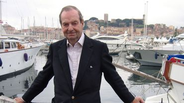 Guy Hamilton à Cannes en 2005
