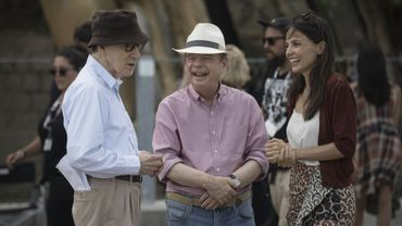 Woody Allen - sur le tournage de Rifkin's festival
