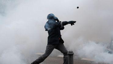 Affrontements à Strasbourg lors de la manifestaion des métallos