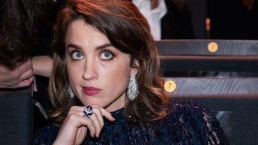 L'actrice Adèle Haenel à la cérémonie des Césars 2020