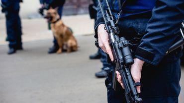 Huitpersonnes ont été interpelléesà Molenbeek.